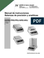 Manual Balanza Ars