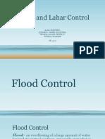Flood and Lahar Control