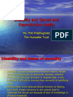 Disability and Sexual and Reproductive Health