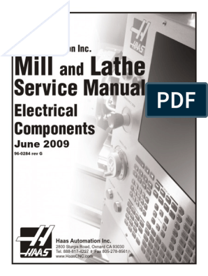 Haas Service Manuals | Power Supply | Electrical Connector