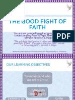 The Good Fight of Faith-.ppt