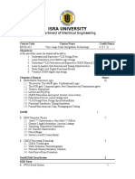 VLSI Design Course Plan