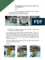 Resultados de Análisis de Leche Agria PDF