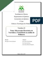 24. MEV e TEM Na Analise de Polimeros. Final