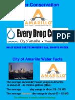 Water Conservation Presentation June 2017