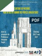 """Manifeste de Chișinău  """"Réaliser la Grande Europe"""""""