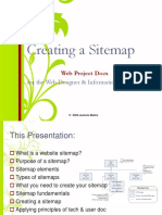 website sitemap creation