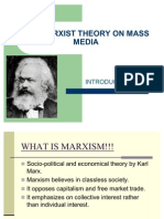 The Marxist Theory on Mass Media (2)