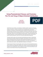 using parameterised classes