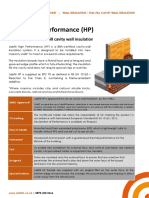 Jabfill HP High Performance Cavity Wall Insulation 3