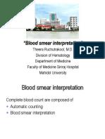 Blood Smear Interpretation