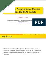 Autoregressive-Moving Average (ARMA) Models