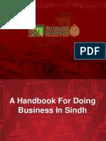 Sindh Investment Handbook