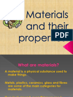 Materials and Properties