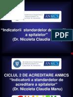 Indicatorii Standardelor de Acreditare a Spitalelor