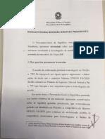Rodrigo Janot defende delação da JBS no Supremo Tribunal Federal - Íntegra