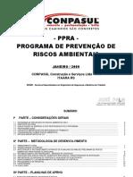 CONPASUL Construção e Serviços Ltda PPRA