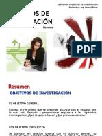 1-Objetivos de Investigación (Resumen)