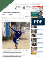 'Kashmiris Are Going Nowhere'