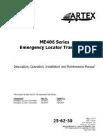 Artex ELT Manual 570-1600 Rev AA