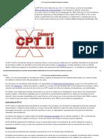 CPT-II_ Instrumento de Evaluación de La Atención y Concentración