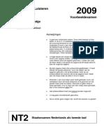 Staatsexamen Nt2 programma