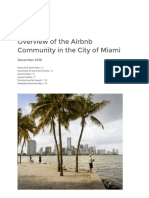 Airbnb Miami Economic Report
