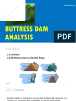 3. Buttress Dam Analysis