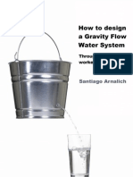 How to design a Gravity Flow Water System