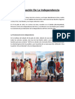 Proclamación de La Independencia