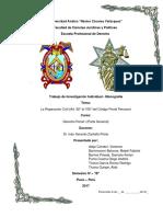 Reparación Civil - Trabajo Grupo N-10 Derecho Penal