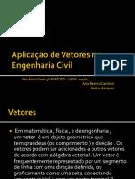 Aplicação de Vetores Na Engenharia Civil