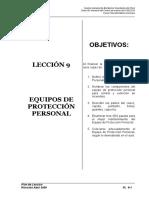 Pl-9 Equipos de Proteccion Personal