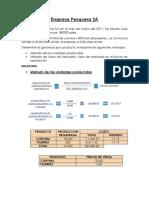 Costos Conjuntos (Empresa Pesquera Sa)