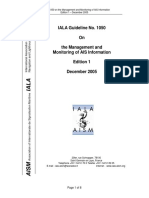 IALA - Guideline No. 1050 on the Management and Monitoring of AIS Information Edition 1 - December 2005