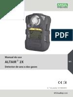 10148949_00 Operating Manual ALTAIR 2X - MX