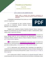 Lei 12.592 de 18 de Janeiro de 2012 - Com Alterações Da Lei 13.352