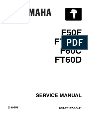 YAMAHA OUTBOARD F60CEHT Service Repair Manual SN1000001.pdf ... on