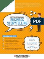 Brochure Storytelling