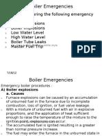Boiler Emergencies