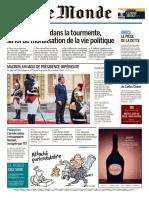 Le Monde Du Jeudi 15 Juni 2017