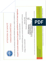 Certificat Bioforce- Logistique