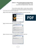 Laboratorio 1.- Guia de Instalación de Un Equipo Virtual - Tic-407 - Ph.d. c Victor Hugo Chavez Salazar