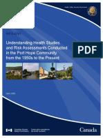 CNSC Understanding Health Studies