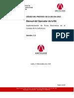 Manual Del Operador- CJE V1.3