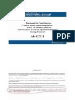 Informe de Desarrollo Social desmiente la teoría de los medios sobre pensiones por discapacidad