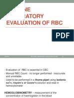 11m.routine Lab Eval of RBC