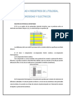 Unidad 4 Registros de Litologia%2c Porosidad y Electricos