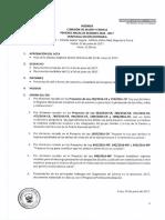 Agenda Vigésima Sesión Odinaria CMF 21-06-2017