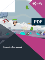 Unity Educator Toolkit Curricular Framework